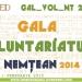 COMUNICAT DE PRESĂ – Gala Voluntariatului Nemțean 2014