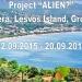 """Selecţie participanţi proiect """"ALIEN?"""", Vatera, Lesvos Island, Greece"""