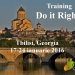 Selecţie participanţi proiect Do it Right!, Tbilisi, Georgia