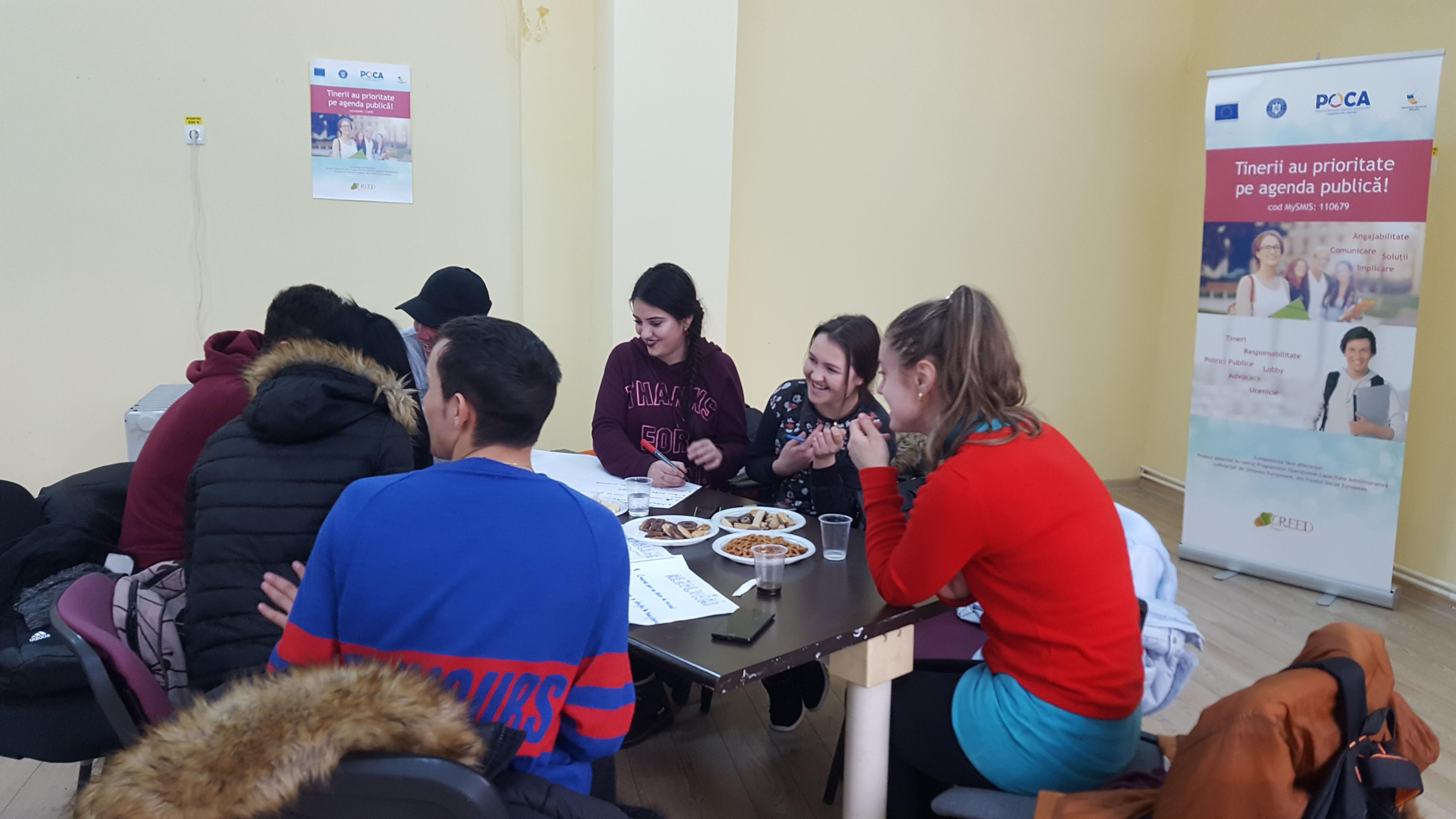 Întâlnire nr. 8 în cadrul Centrului de Participare Activă