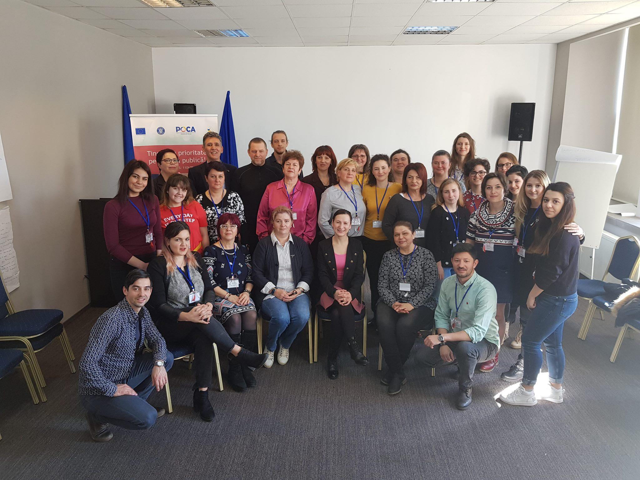"""COMUNICAT POST ACTIVITATE – FORUMUL TINERILOR UCENICI-   """"TINERII AU PRIORITATE PE AGENDA PUBLICĂ!"""" PIATRA NEAMȚ"""