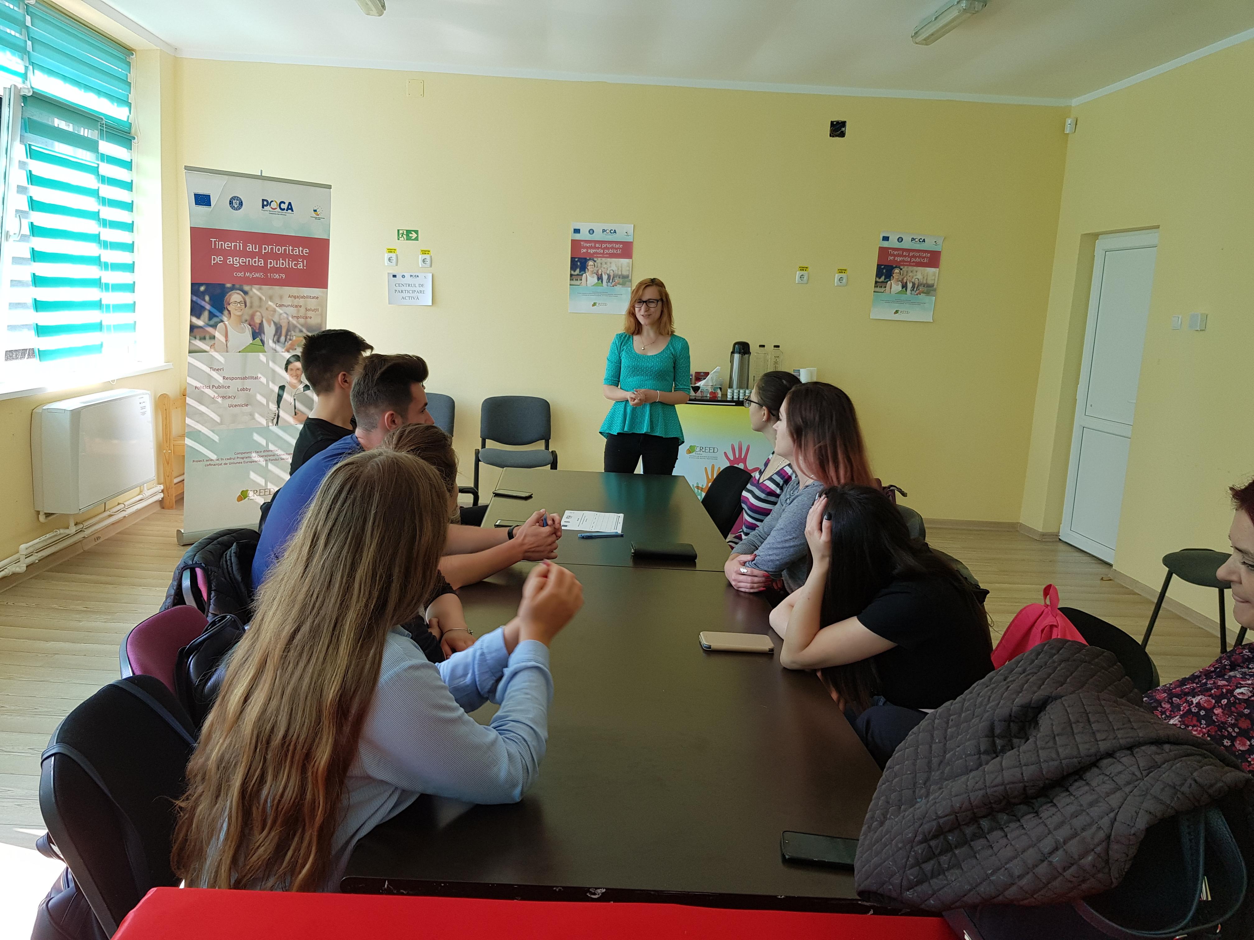Intalnire CPA nr. 12 – Tinerii au prioritate pe agenda publica!