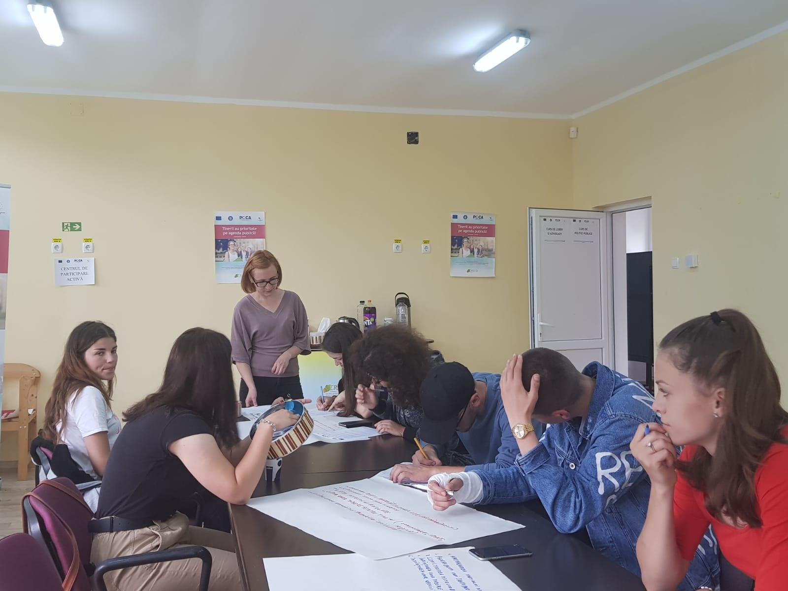 Intalnire CPA nr. 13 – Tinerii au prioritate pe agenda publica!