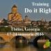 Selecţie participanţi proiect Do it Right!, Tbilisi, Georgia